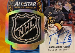 All-Star Skills Shield Patch Auto Marc-Andre Fleury