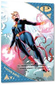 Base Captain Marvel MOCK UP