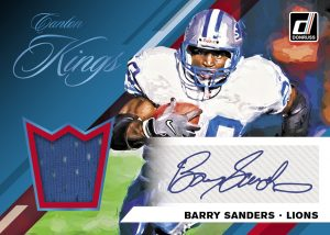 Canton Kings Jersey Auto Barry Sanders MOCK UP
