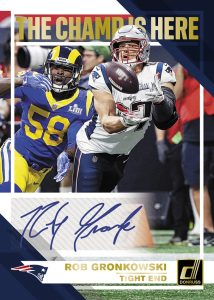 Champ is Here Auto Rob Gronkowski MOCK UP
