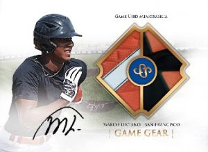 Game Gear Auto Relic Marco Luciano MOCK UP