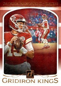 Gridiron Kings Patrick Mahomes II MOCK UP