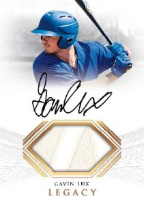 Legacy Auto Relic Gavin Lux MOCK UP