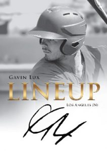Lineup Auto Gavin Lux MOCK UP