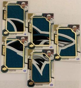 Premier Mega Patch Jumbo Relics Shoulder Logo Evander Kane