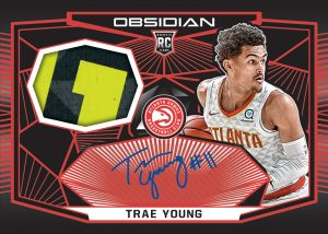 Rookie Jersey Auto Red Trae Young