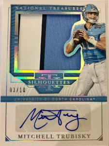 Silhouettes Signatures Mitchell Trubisky