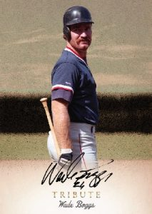 Tribute Auto Wade Boggs MOCK UP