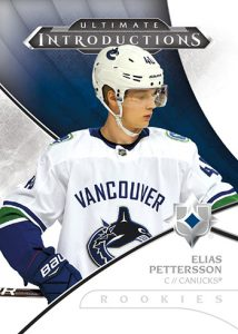 Ultimate Introductions Elias Pettersson MOCK UP