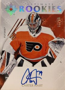 Ultimate Rookies Auto Carter Hart