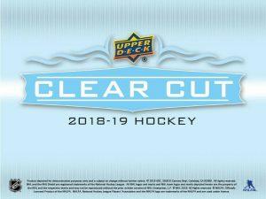 2018-19 Upper Deck Clear Cut