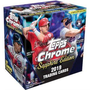2019 Topps Chrome Sapphire Edition