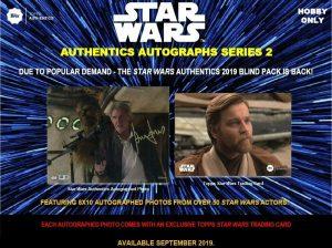 2019 Topps Authentics Autographs Series 2