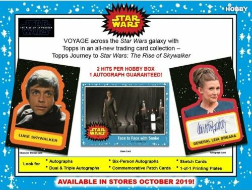 2019 Topps Star Wars Journey To The Rise Of Skywalker Entertainment Card Checklist Checklistcenter Com