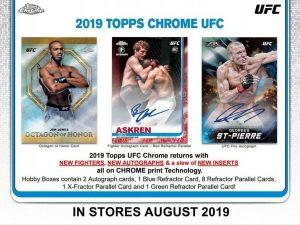 2019 Topps UFC Chrome