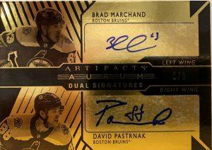 Aurum Dual Signatures Brad Marchand, David Pastrnak