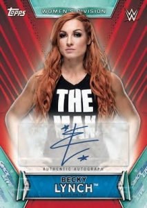 Autographs Becky Lynch