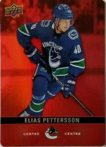 Base Red Die-Cut Parallel Elias Pettersson