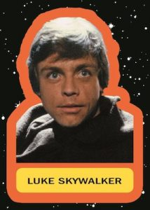 Character Stickers Luke Skywalker