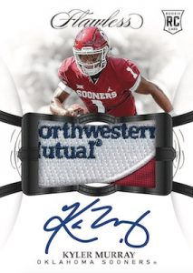 Flawless Rookie Patch Auto Kyler Murray MOCK UP