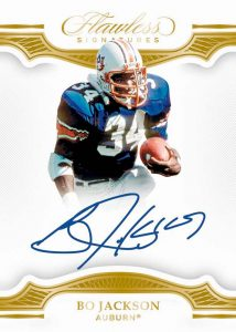 Flawless Signatures Gold Bo Jackson MOCK UP