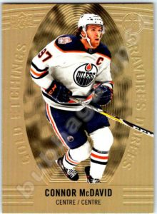 Gold Etchings Connor McDavid