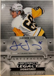 Lord Stanley's Legacy Signatures Jaromir Jagr