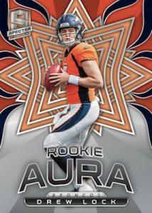Rookie Aura Drew Lock MOCK UP