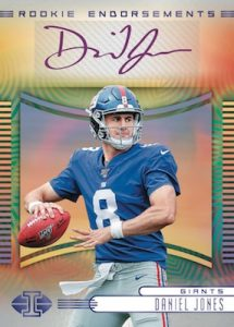 Rookie Endorsements Auto Daniel Jones MOCK UP