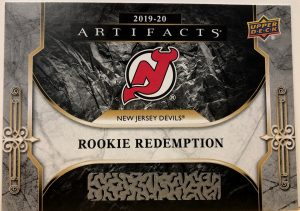 Rookie Redemptions Devils