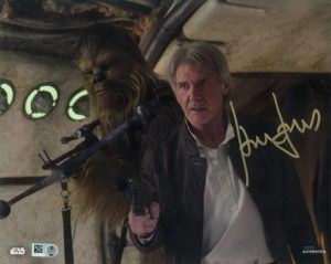 Signed Photo Harrison Ford