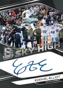 Sky High Signatures Ezekiel Elliot MOCK UP