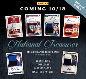 2019-20 Panini National Treasures Collegiate Basketball