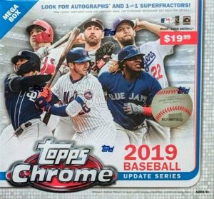 2019 Topps Chrome Update