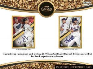 2019 Topps Gold Label Baseball