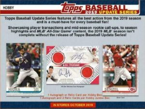 2019 Topps Update Series Baseball
