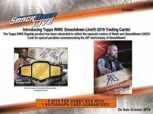 2019 Topps WWE Smackdown Live