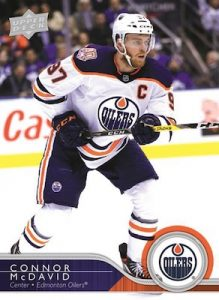 30 Years of Upper Deck Connor McDavid MOCK UP