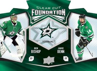 Clear Cut Foundation Duos Ben Bishop, Jamie Benn MOCK UP