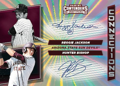 Collegiate Connections Signatures Reggie Jackson, Hunter Bishop