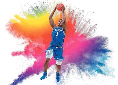 Color Blast Zion Williamson