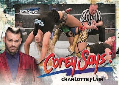 Corey Says Charlotte Flair