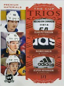 Cup Trios Elias Pettersson, Rasmus Dahlin, Jesperi Kotkaniemi