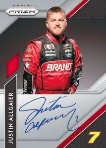 Driver Signatures Prizm Justin Allgaier