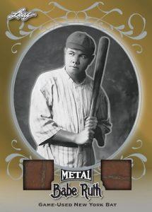 Dual Game Used Bat Relic