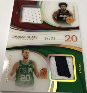 Dual Patches Jersey Number Gordon Hayward, Justise Winslow