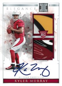 Elegance Rookie Helmet and Patch Auto Kyler Murray MOCK UP