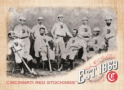 Est. 1869 Cincinnati Red Stockings