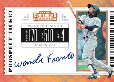 International Ticket Auto Wander Franco Jr