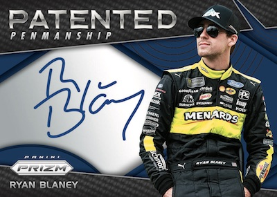 Patented Penmanship Prizm Auto Ryan Blaney